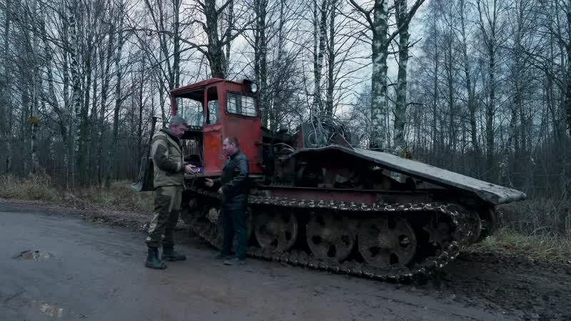 ТДТ-55 Трелевочник – уничтожитель леса