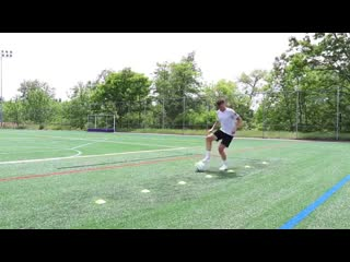 32 футбольных упражнения с фишками для улучшения дриблинга