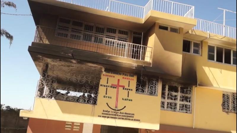 Mindestens 15 Kinder sterben bei Brand in Waisenhaus in Haiti