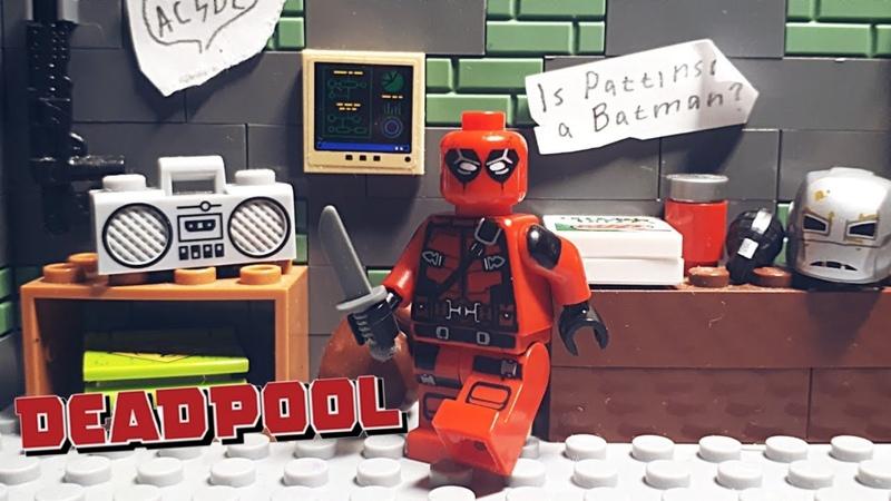 LEGO Deadpool's Shootout Stop motion