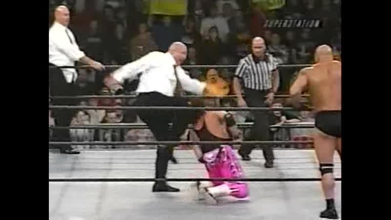 16 1st WCW Tag Team with Bill Goldberg Thunder 07 12 99