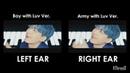 [SPLIT AUDIO Comparison] BTS - Boy With Luv feat. Halsey' [Original vs Army With Luv Ver.]