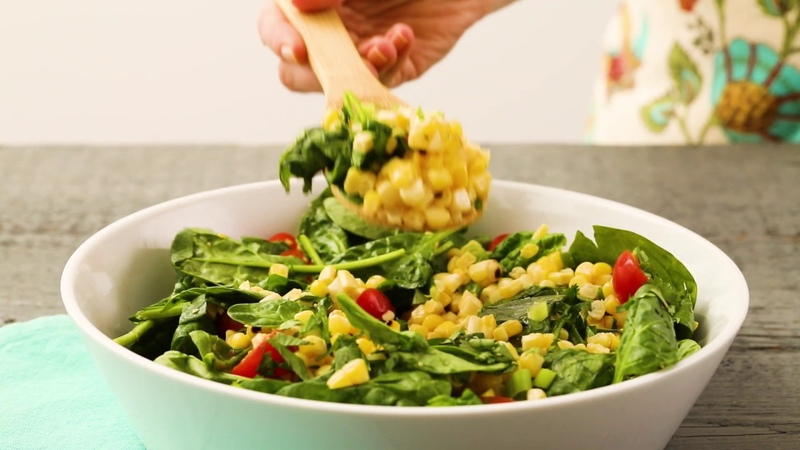 How to Make Grilled Corn Salad with Chili Miso Dressing EatingWell