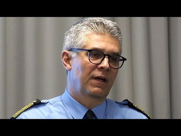 Polisen Samarbete med Militären Försvarsmakten Pressträff med Polisen idag