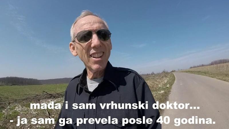 Maja Volk razgovora u šetnji sa dr Donald Millerom