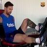 "FC Barcelona on Instagram 📍 Ciutat Esportiva Joan Gamper 💪 @leomessi 💪 🙌 Come on ¡Vamos Som hi """
