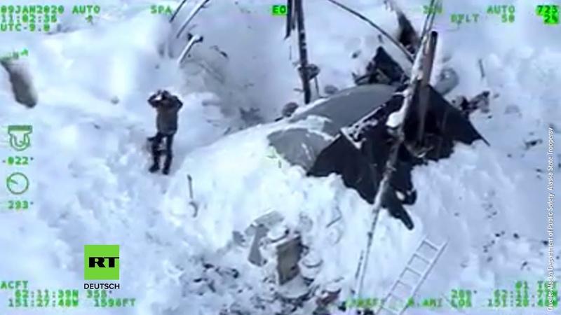 Mann überlebt drei Wochen in der eisigen Wildnis Alaskas