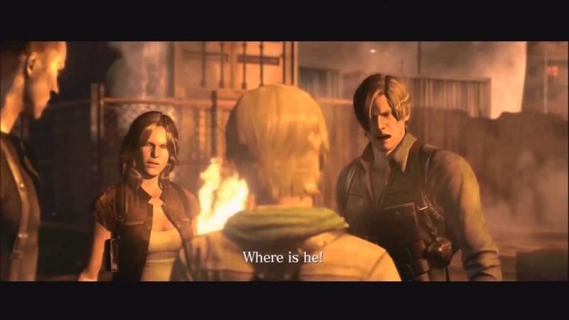 Resident Evil 6: Leon and Sherry Birkin Reunion Cutscene
