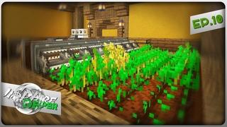 Minecraft  InSphere Deeper - Лифт на Лебёдке, Ферма и Биогенератор #10