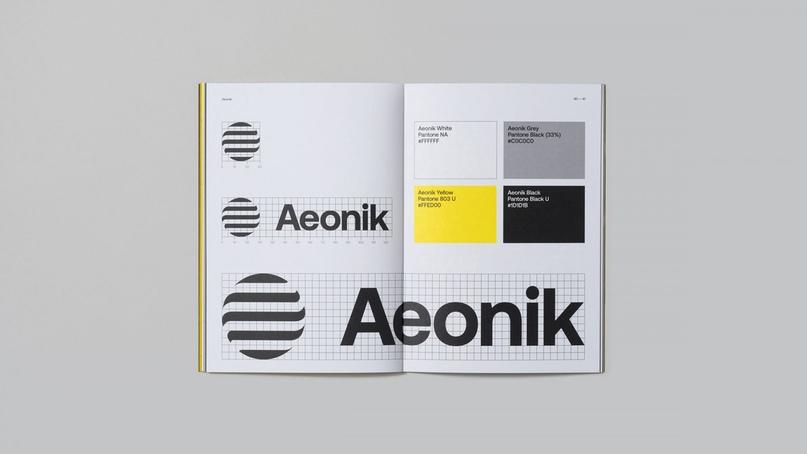 шрифт Aeonik