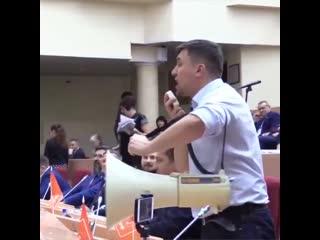 Депутат Николаи Бондаренко разносит Единую Россию