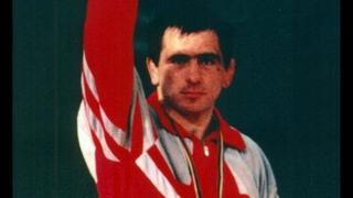 Олимпийские игры 1992 вольная борьба (финал 90кг) Махарбек Хадарцев vs Кенан Шимшек (TUR)