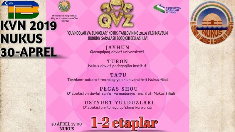 QvZ Nukus 30-aprel 1-2 etaplar