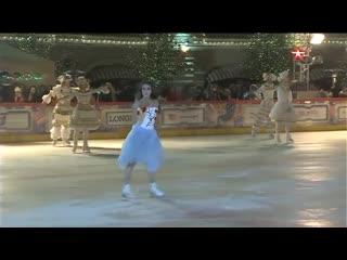 Навка, Чернышов и Загитова каток на Красной площади открылся ледовым шоу
