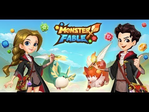 Monster Fable android game first look gameplay español