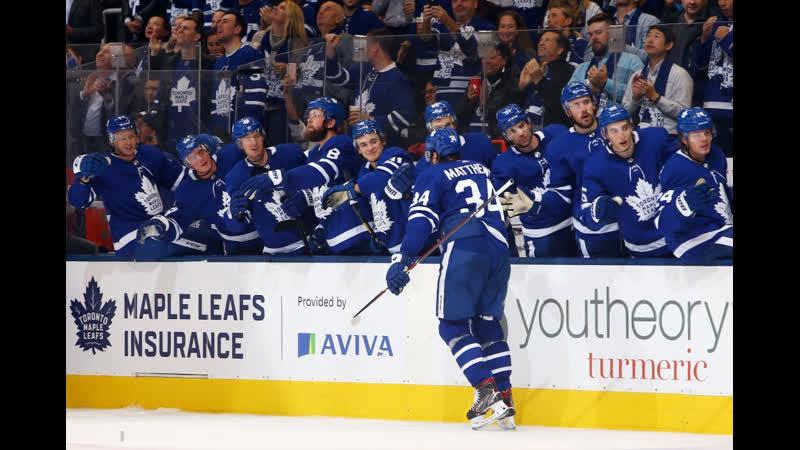 НХЛ Сезон 2019 2020 Торонто Мэйпл Лифс Оттава Сенаторз 2 ая шайба Мэттьюса