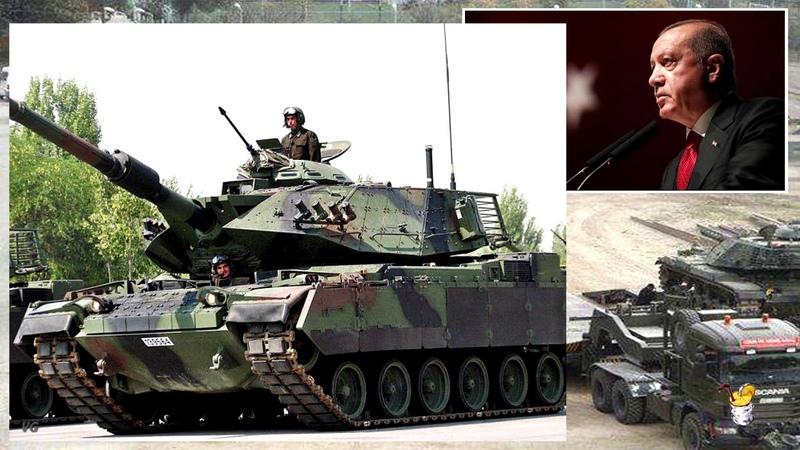 А вот и танки Турция перебросила в Ливию тяжелую бронетехнику для ударных операций