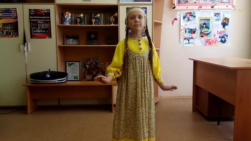 Надёжина Дарья 7 лет г Уфа