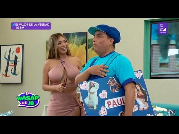 El niño Arturito fue sorprendido por Paula Manzanal Wasap de JB