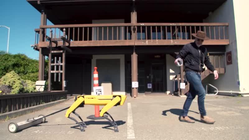 How Boston Dynamics Spot Robot Works