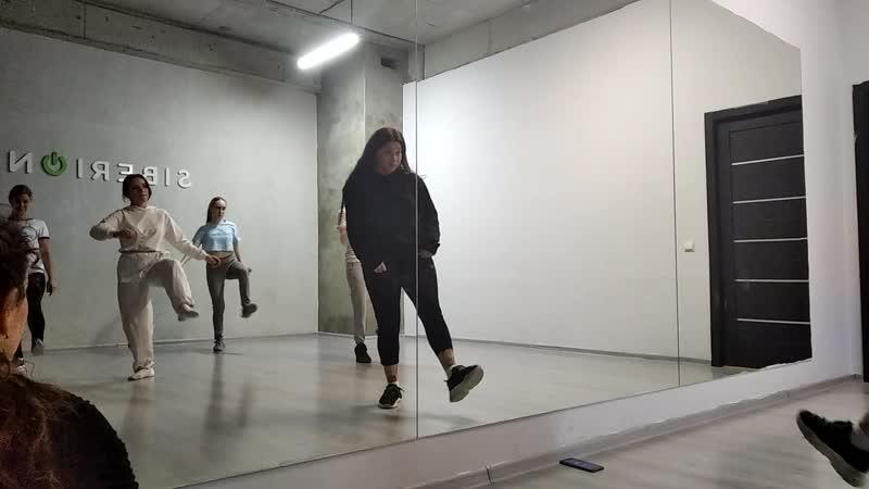 танец с преподавателем Козлова Мавра 11 10 2019