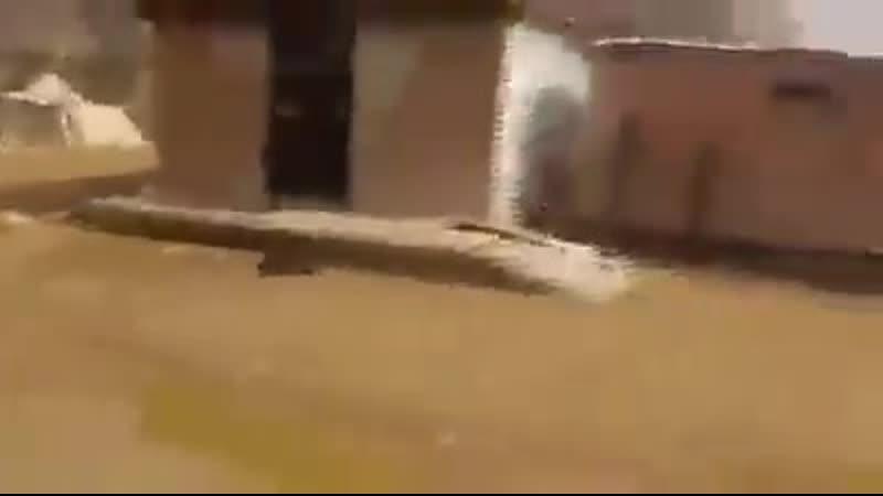 Разгром хадистов в Нихм оставленный лагерь и техника