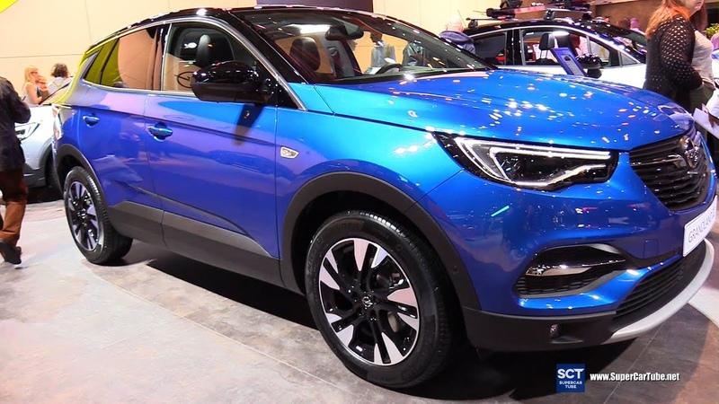 2020 Opel Granland X Exterior and Interior Walkaround 2020 Brussels Auto Show
