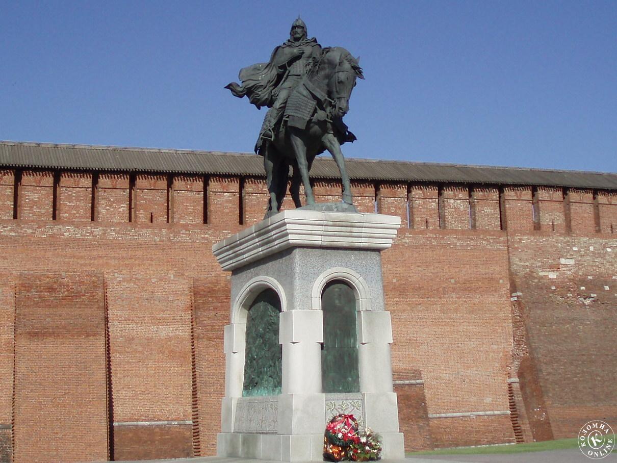 В Коломне почтили память Дмитрия Донского