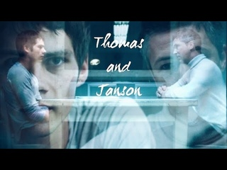 Thomas and Janson   Open Your Eyes   Dylan O'Brien and Aidan Gillen   Janmas   The Maze Runner