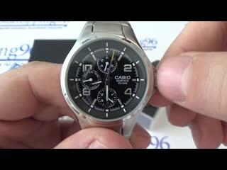Обзор часов Casio Edifice  EF-316D-1A