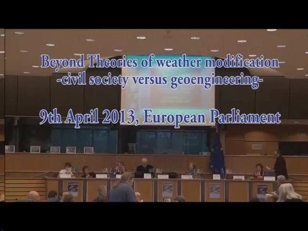 Les parlementaires européens dénoncent les chemtrails Wayne Hall