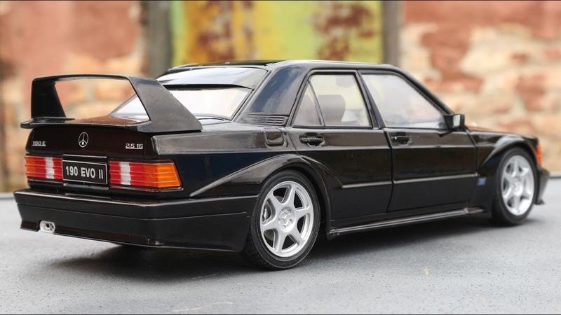 1:18 Mercedes Benz 190E 2.5 16V Evo II 90 Solido Unboxing