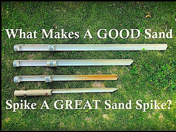 What Makes For A Good Sand Spike Rod Holder