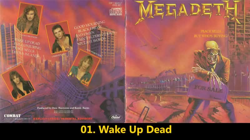Megadet̲h̲ Peace Sells But Whos Buyin̲g̲ 1986