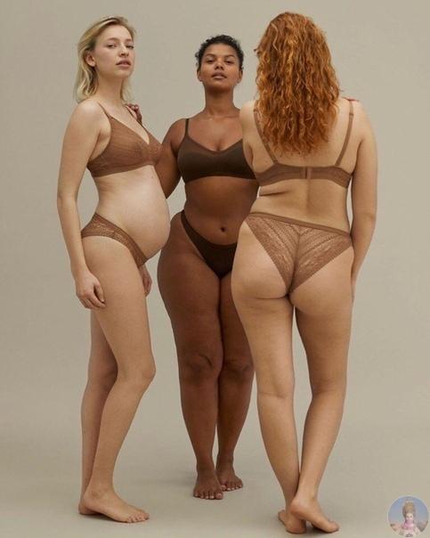 Женские тела без ретуши и красота без стереотипов в рекламной кампании испанского бренда нижнего белья