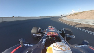 Max Verstappen's first lap at the upgraded Circuit Zandvoort