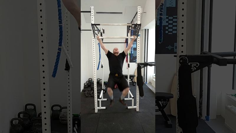 WORLD RECORDS MOST LEG-ASSISTED PULL-UPS in 1 MINUTE (MALE) 72 REP CAM 1