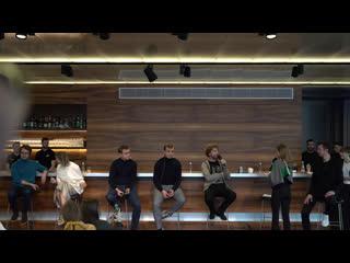 Дискуссия о еде будущего на экобранче в Гараже