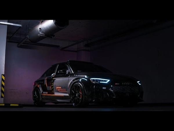 BLACK AUDI RS3 STAGE 3 660HP MG PREMIUM X GO HARDER MEDIA