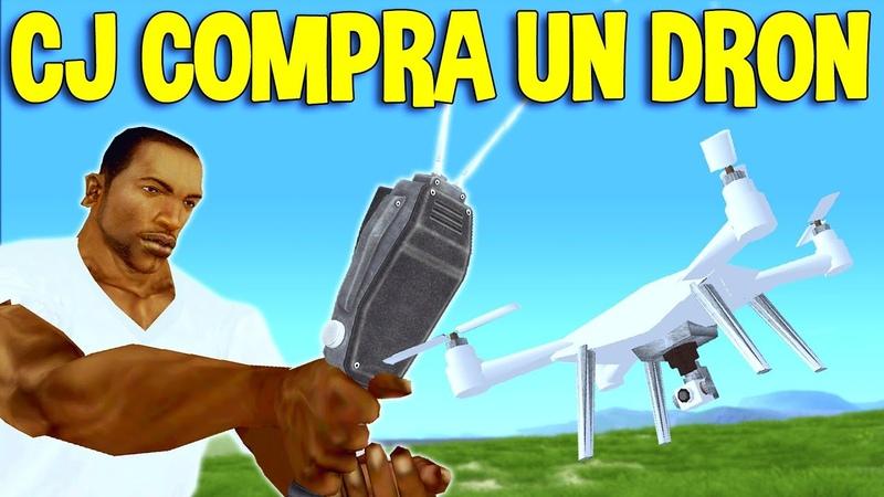 GTA San Andreas Loquendo CJ Compra un Drone
