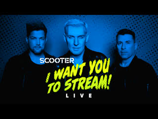 SCOOTER - I WANT YOU TO STREAM | Live 2020 Концерт-Трансляция | Ramp - How Much Is The Fish - Age Of Love - J'adore hardcore