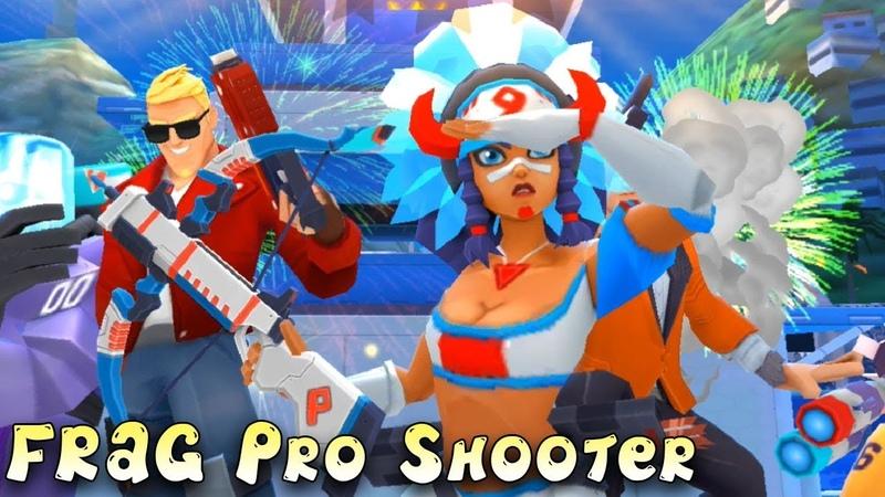 Яркая стрелялся на андроид FRAG Pro Shooter Первый взгляд