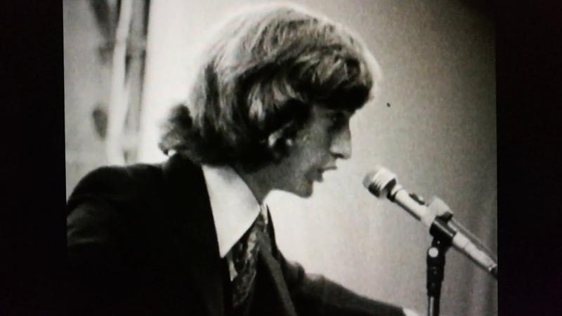 Robin Gibb beim Redwood 70 Festival in Neuseeland am 31. Januar 1970