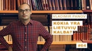 Vladimir Panov - Kokia yra lietuvių kalba? || Mokslo sriubos podkastas 69