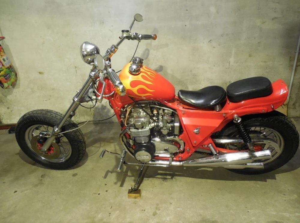 Спасение чоппера! HB-Custon: реставрация Honda CB500 Four