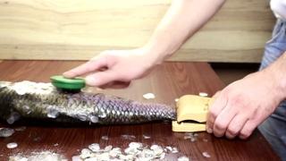 Зажим для чистки рыбы LuxFish