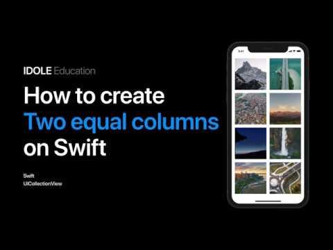 Создание адаптивной сетки из двух колонок в CollectionView Возможности протокола FlowLayout