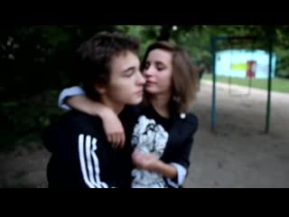 поцелуй меня в щечку