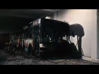 Odeith graffiti bus