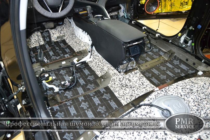 Комплексная шумоизоляция Toyota Camry, изображение №5